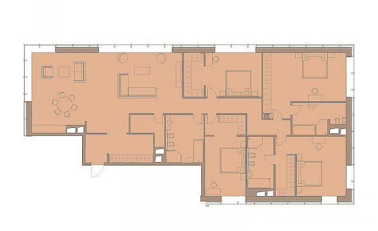 Пентхаус 223,00 м² ЖК «Резиденция МОНЭ»