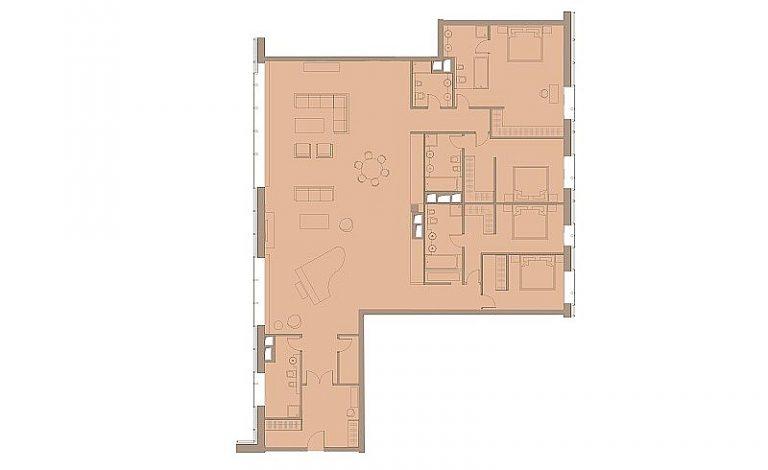 Пентхаус 271,00 м² ЖК «Резиденция МОНЭ»